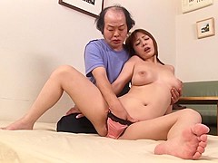 Amazing Japanese slut Misaki Tsukishima in Incredible oldie, natural tits JAV video