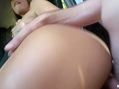 Jill Kassidy in All Natural Texan Fucked in Car - StrandedTeens