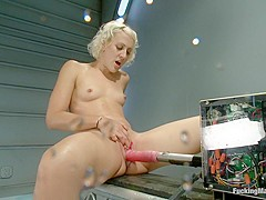 Killing the Machines with Pussy SQUIRT: Cytherea and Dylan Ryan