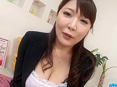 Hinata Komine deals cock in serious POV scenes