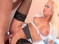 Best pornstar Stacy Silver in hottest big tits, blonde adult scene