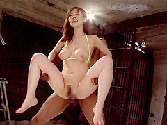Three Black Cocks Stretch Kanno's Pussy - MilfsInJapan
