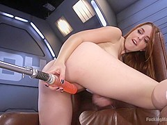 Cute Red Head Gets Fucked Proper!!