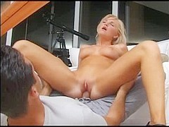 Horny pornstar in exotic blonde, cunnilingus porn movie