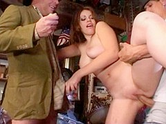 Exotic pornstar Gia Paloma in amazing brunette, threesomes adult clip