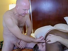 Danielle reid gets some fucklicking and spit roasting