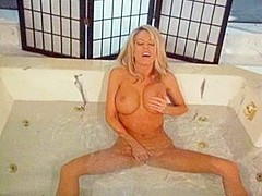 Horny pornstars Shayla LaVeaux and Tabitha Stevens in hottest blowjob, rimming porn video