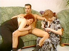 Incredible Amateur video with Hairy, Threesome scenes