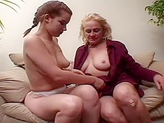 Petite Cutie Misty Parks Has Her Pussy Licked By Older Granny