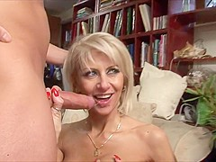 Hot milf and her younger lover 446