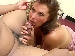 Hot And Horny Chick Sucks Thick Dick