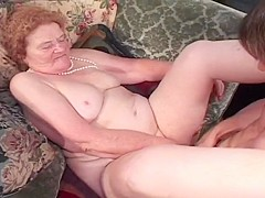 Wrinkly Tart Sucks Fat Cock In Rest Home