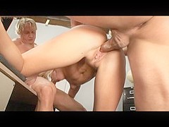 Exotic pornstar Simone Schiffer in crazy cumshots, blonde sex clip