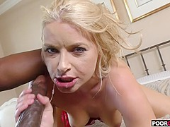 Sexy HotWife Anikka Albrite Gets Fucked By BBC While Cuckold Watching