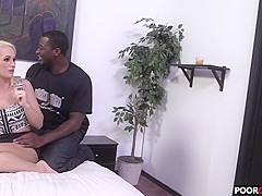 Sexy HotWife Emily Austin Gets Fucked By BBC While Locked Cuckold Watching
