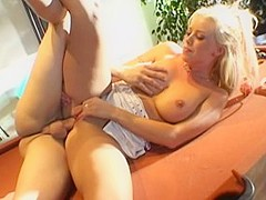 Best pornstar Brittney Skye in fabulous big tits, blonde porn clip