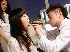 Ayu Kawashima in Nasty threesome at black magic ward - AviDolz