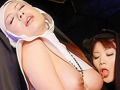 Freaky foursome action at black magic ward - AviDolz