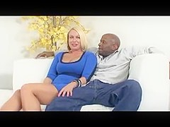 Busty Cougar Take Big Black Cock In The Ass