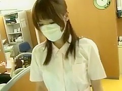Japanese dental assistant