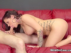 Karmen Karma in Fucking Karmen Live - WildOnCam
