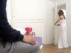 Busty mom, Yume Mizuki, fucked in really hot manners