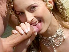 Exotic pornstar Monika Unco in incredible blowjob, outdoor adult scene