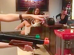 Girls flash tits on Dan Bilzerian Facebook Live