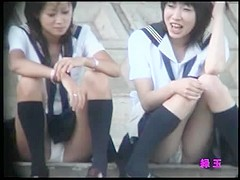 group of women sitting with her legs open part 5