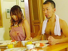 Jun Kusanagi & Yuri Aine in Yuri Aine and Jun Kusanagi having fun while naked with the family - AviD