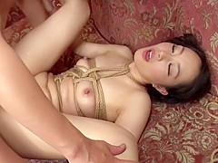 Incredible Japanese chick Nao Ogawa in Crazy dp, threesomes JAV movie
