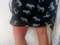wife first upskirt
