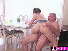 Stepdaughter Nickey Huntsman Gets Sex Lessons