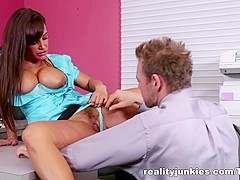 Best pornstar Ariella Ferrera in Amazing Big Tits, HD porn video
