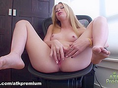 Hottest pornstar Avril Hall in Best Blonde, Solo Girl porn video