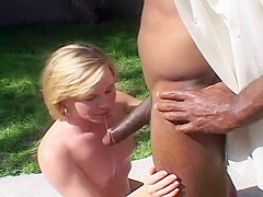 Girl Laying In The Sun Fucks A Stranger
