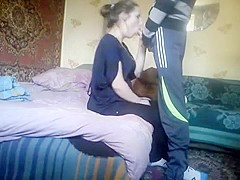 Hottest Amateur record with Couple, Blowjob scenes