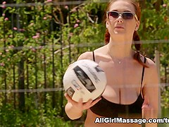 Incredible pornstar Jelena Jensen in Amazing Cunnilingus, Massage xxx scene