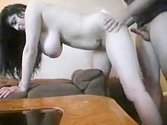 Thick Wife With Amazing Tits Fucked