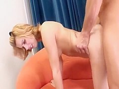 Lexi Belle cut from behind