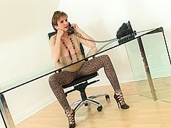 British lady fucked in leggings