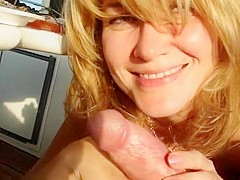 American wife loves her dick so much