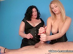 Punished By Mom and Daughter - MeanMassage