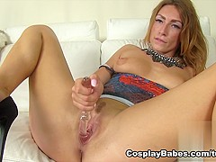Fabulous pornstar in Incredible Dildos/Toys, Solo Girl adult movie