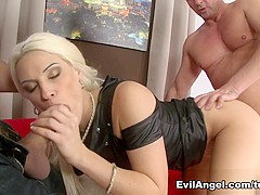 Exotic pornstars Blanche Bradburry, David Perry in Incredible Dildos/Toys, Facial sex movie