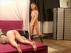 20 minutes of extreme man caning