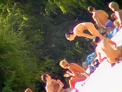 Amazing Homemade record with Beach, Nudism scenes