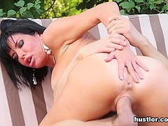 Veronica Avluv in Caught In The Act - Hustler