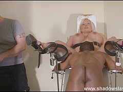 Clinic domination medical fetish of Melanie Moon in pussy stabling punishment and hospital bdsm with