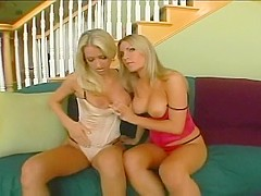 Sammie And Harmony Share Two Big Dicks